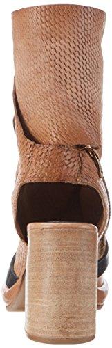A.S.98 Damen Fever Stiefel Beige (Grano/Grano/NERO/NERO)