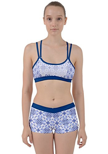CowCow -  Vestito  - Donna Steel Blue Waves