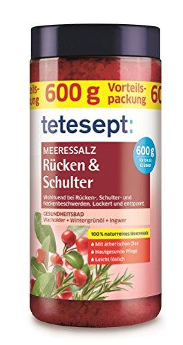 Tetesept Meeressalz Rücken & Schulter, 3er Pack (3 x 600 g)