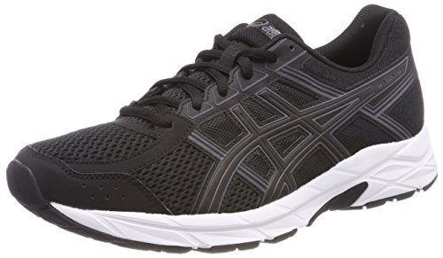 Asics Gel Contend 4, Scarpe Running Uomo, Nero (Black/Carbon/White 9097), 42 EU