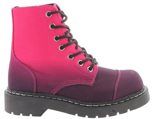 T.U.K., Stivali donna Rosa rosa Multicolore (rosa)