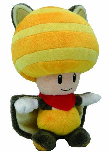 Little Buddy Toys Nintendo flyinq Eichhörnchen Kröte 20,3cm Plüsch, gelb