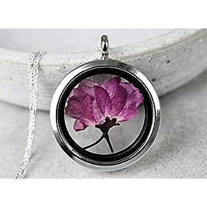 925 SAKURA (Japanische Kirschblüte) Silber Kette