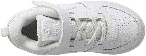 Nike Air Moc Tech Fleece, Chaussures De Sport Blanches Pour Homme (blanc / Blanc)