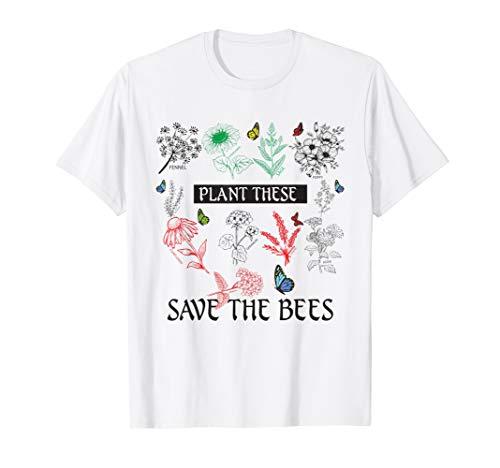 Wildblumen-shirt (Imkereibedarf Imker Shirt Imkerei Imkerjack I,Bienenzucht)
