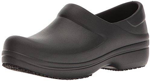 Crocs neria pro clog w, scarpe da lavoro donna, nero (black), 38-39 eu