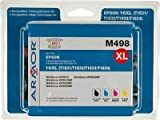 Armor b10247re Ink Cartridge–Ink Cartridges (Black, cian, magenta, amarillo, Epson, Epson WorkForce WF- 2010W, WF-2510WF, WF-2520NF, WF-2530WF, WF-2540WF, WF de 2630, WF-2630WF, WF-2650DWF)