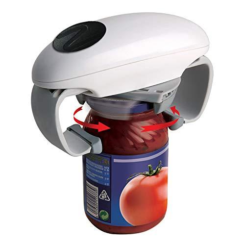 Abridor de latas eléctricas, funciona con pilas y abrelatas automático. Type A-FBA
