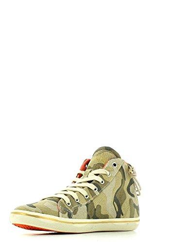 Wrangler, Sneaker donna Verde (camouflage)