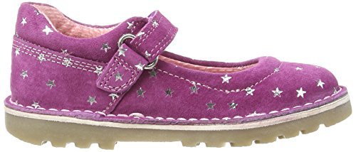 Hush Puppies Mondeo, Mary Janes Fille Violet (Plum Wine)