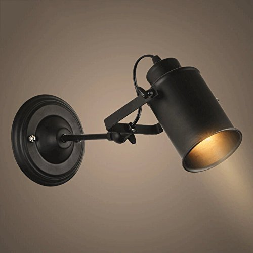 American Black Retro Industrial Wind LED Bar Loft Long Shot Licht Kreativ Personalisierte Kleidung Shop Decke Track Turn Lights