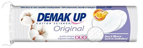Demak'Up Original - Dischetti struccanti, confezione da 65, lotto di 5