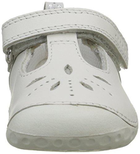Start Rite Polly, Babies Fille Blanc (White)