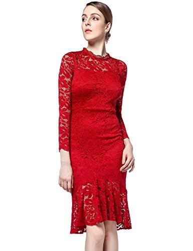 396159916df4 Zoom IMG-1 disbest vintage donna vestito pizzo