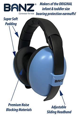 BabyBanz GBB008 Baby-Gehörschutz, 0-2 Jahre - 2