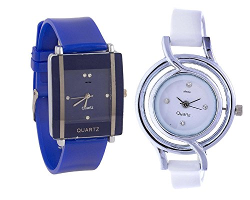Women Watches Multicolor Analog Watch For Girls by shree - Pack of 2