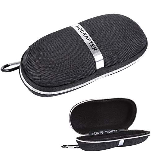 Yiph-Sunglass Sonnenbrillen Mode E-001 Sonnenbrillen Zipper Style Solid Glasses Schutzhülle + Mikrofasertuch, Größe: 16 * 7 * 4cm