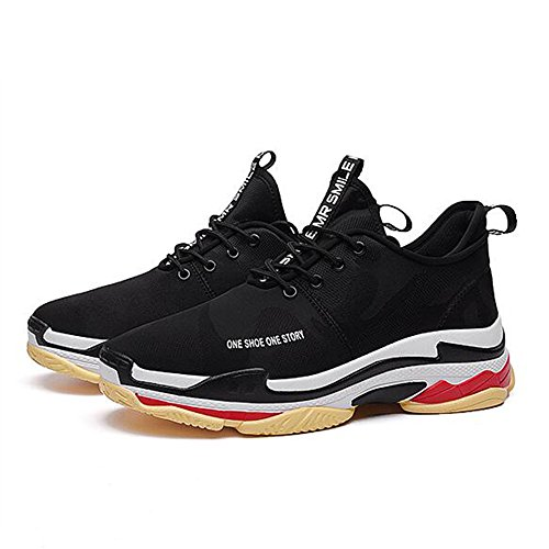 FEIFEI Scarpe da uomo Primavera e autunno Movimento per il tempo libero Tide shoes2 colori (Taglia scelta multipla) ( Colore : 01 , dimensioni : EU42/UK8.5/CN43 ) 01