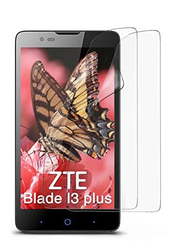 2X ZTE Blade L3 Plus | Schutzfolie Matt Bildschirm Schutz [Anti-Reflex] Screen Protector Fingerprint Handy-Folie Matte Bildschirmschutz-Folie für ZTE Blade L3 Plus Bildschirmfolie