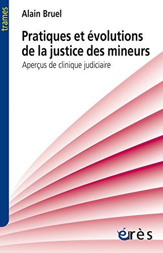 Pratiques et évolutions de la justice des mineurs : Aperçus de clinique judiciaire