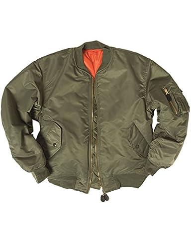 aux États-Unis Flight pour femme MA-1style armée vert olive Bomber