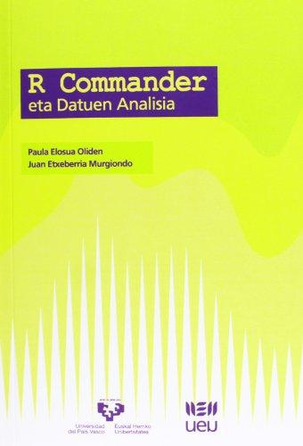 R Commander eta Datuen Analisia (U.E.U.) por Paula Elosua Oliden