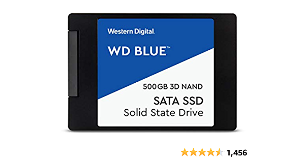 Western Digital WD Blue 500 GB 2.5 inch SATA III Internal Solid State Drive (WDS500G2B0A)