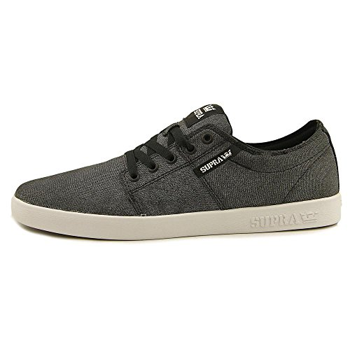 Supra - Stacks II, Senakers a collo basso, unisex Washed Black/White