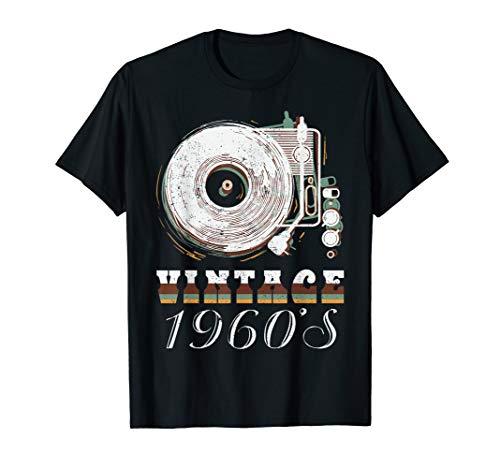 Jahre Vinyl Liebhaber Musik Fan T-Shirt ()