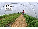 Película pebd 200micras–1.50de Large (1M50)–lona transparente pequeña invernadero de jardín