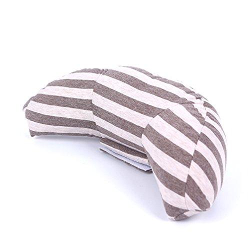 LB Trading Kinder Auto Sicherheitsgurte Schulter Kissen Erwachsene Kinder Kopfstütze Kissen für Auto oder Booster Fahrzeug Sitze braun