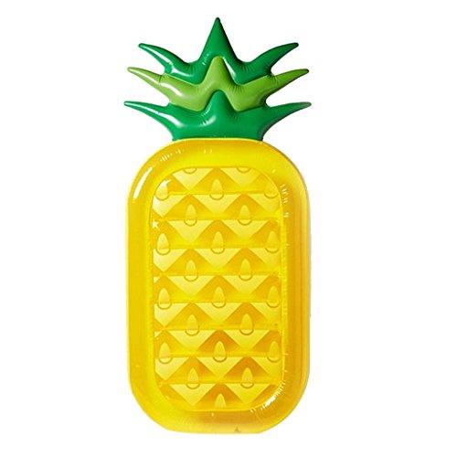 MagiDeal Riesen Ananas Aufblasbaren Matratze Luftmatratze Pool Sessel Badeinsel Wasserliege Luftbett