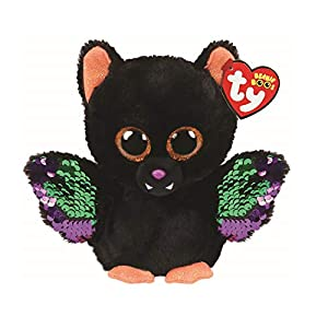 Ty 36276 Echo Bat Beanie Boos Halloween 19, Multicolor