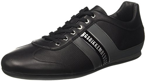 Bikkembergs Springer 98, Sneakers basses homme Noir (Black/grey)