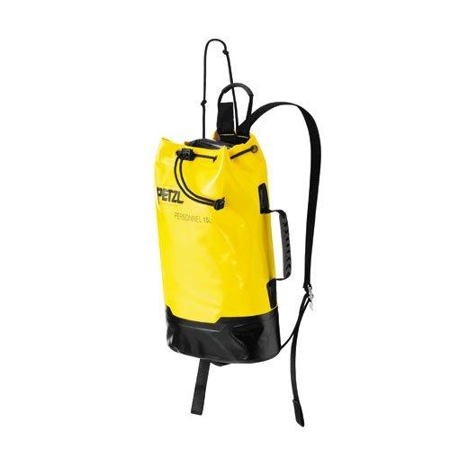 Petzl S44Y 015 PERSONNEL Durable Bag, 15 Liter, Gelb/Schwarz