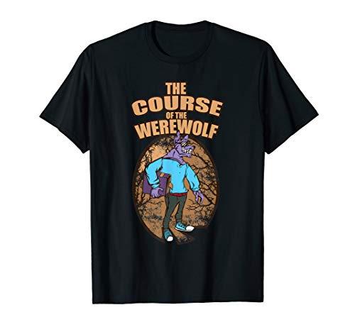 Wolf Werwolf T Shirt - Grusel Monster Geschenk Männer Frauen T-Shirt (Der Beste Halloween-kostüme Lehrer)