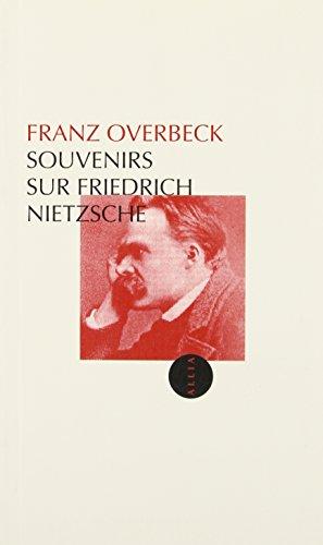 Souvenirs sur Nietzsche