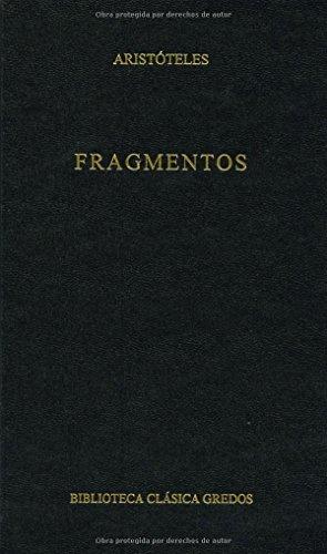 Fragmentos por Aristotle