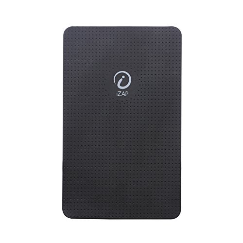 iZAP USB Portable Power Supply 5000mAh Li-Polymer Ultra Slim Power Bank for Apple iPhone Samsung HTC Sony Xiaomi Smartphone (Black)  available at amazon for Rs.525
