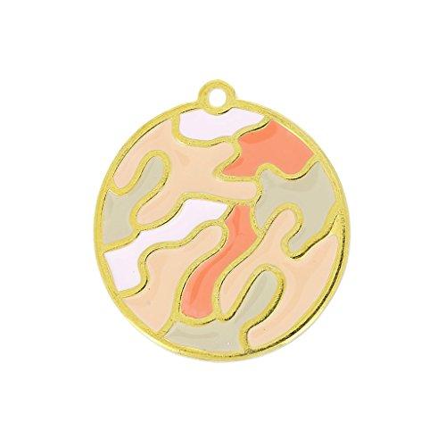 colgante-camuflaje-esmalte-epoxi-30-mm-rosa-coral-dorado-x1