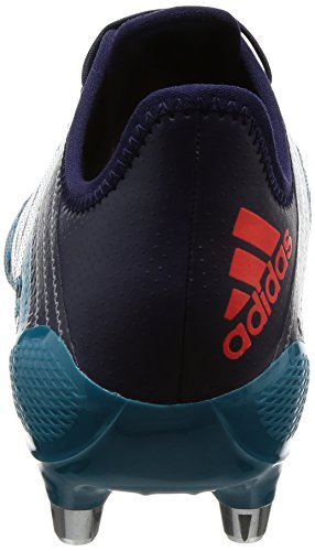 Adidas Predator Malice Sg, Chaussures De Rugby Multicolore Pour Homme (mystery Petrol F17 / Noble Encre F17 / Blaze Orange S13)