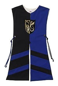 Fantashion G 515 - Disfraces infantiles, Tabard Pablo, tamaño 2, negro/azul