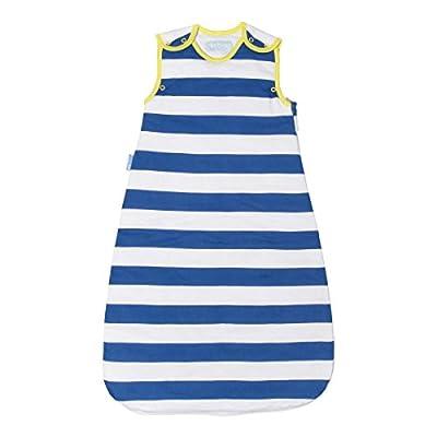 The Gro Company-Saco de dormir para bebé (True Blue Stripes, 1,0tog, 18, 36m)