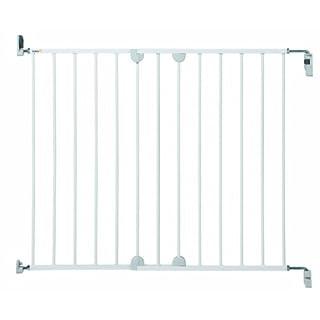 Safety 1st 24384310 - Wall Fix, verstellbares Türschutzgitter aus Metall, Schraubenbefestigung