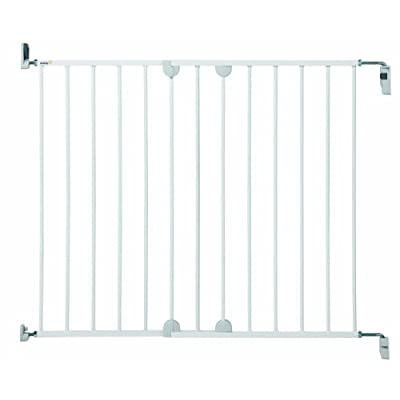 Safety 1st Wall Fix Extending Wide Safety Metal Gate, Ideal for Kids and Pets, 62 to 102 cm, White  Janoon Ltd