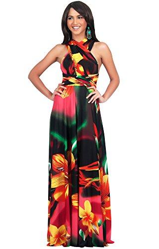 koh-kohr-femmes-plus-size-grande-taille-robe-longue-imprime-fleur-chale-convertible-couleur-rose-tai