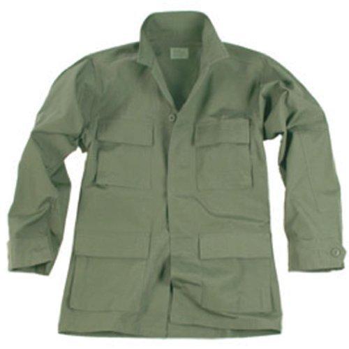 US Feldjacke BDU Ripstop, oliv (M) (Us Ripstop Bdu Shirt)