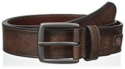 Levis Mens 38 mm Specialty Tab Strap Belt, Tan, Large