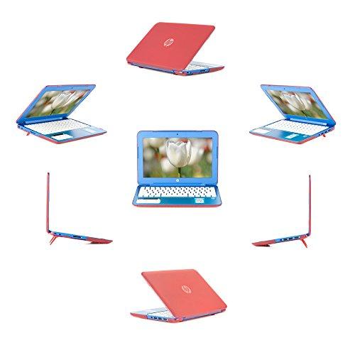 "mCover Coque pour Ordinateurs Portables 13,3"" HP Stream 13 cXXXXX série (Rot)"