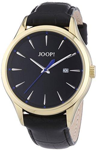 Joop - JP100701F04 - Composure - Montre Homme - Quartz Analogique - Cadran Noir - Bracelet Cuir Noir